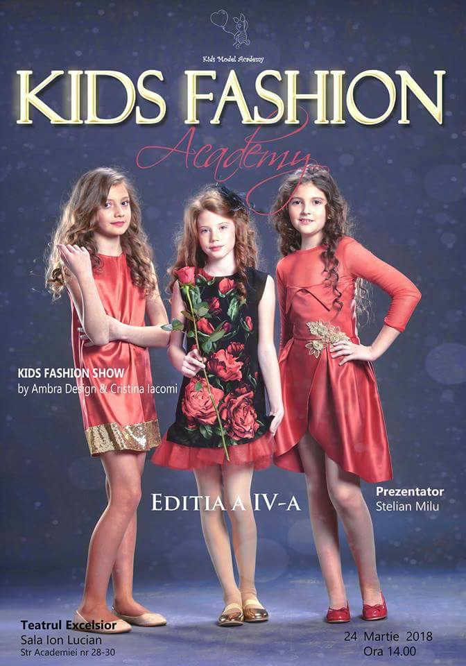 Kids Fashion Academy, editia a IV-a