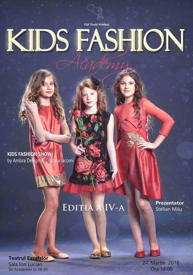 Kids Fashion Academy, editia a IV-a