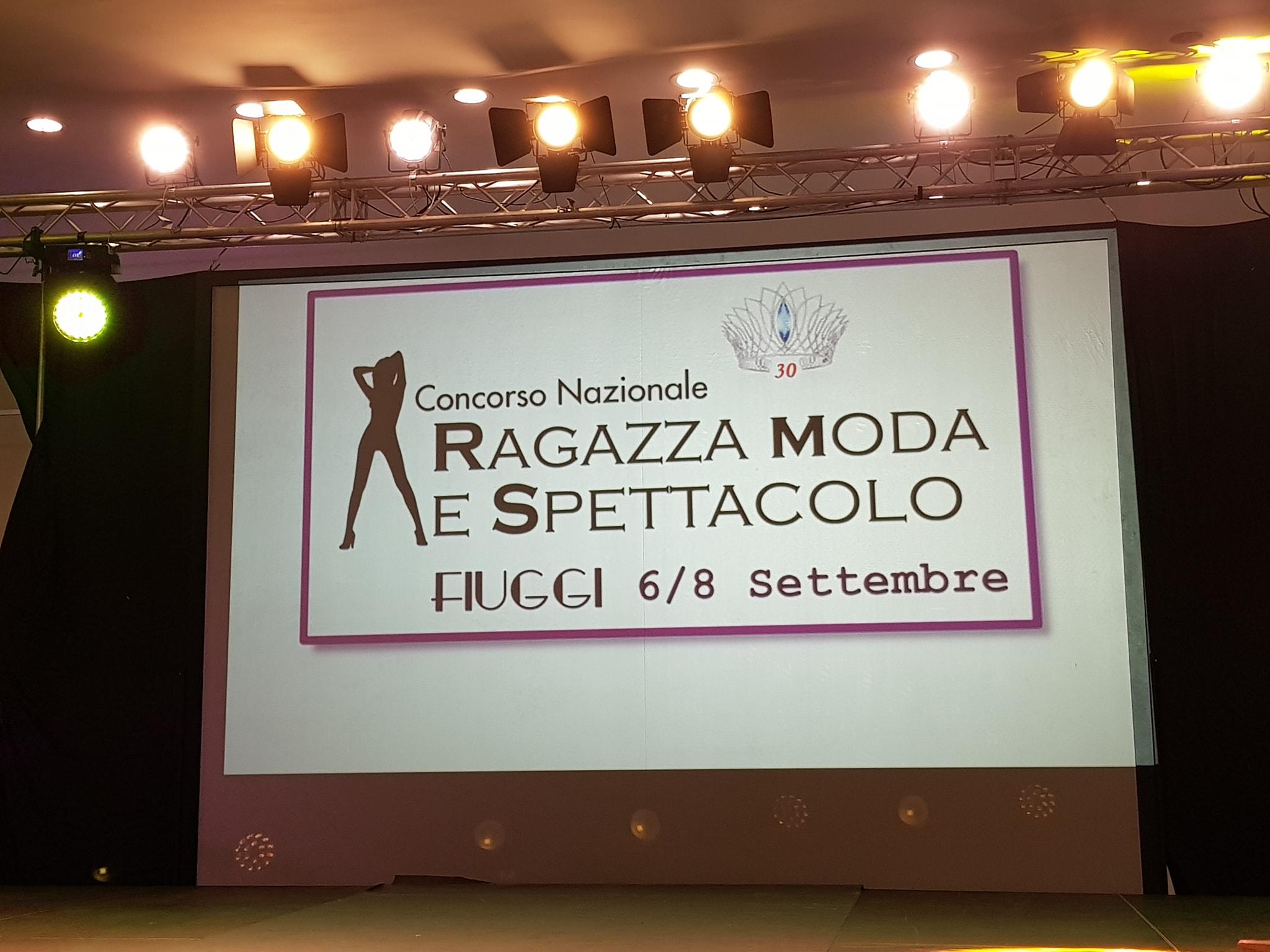 Ragazza moda e Spettacolo - Fiuggi, 2018